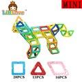 LittLove 57 Шт. Мини Размер Enlighten Образовательные Магнитные Строительные Блоки Строительство в Начале Обучения Кирпичи Игрушки для Детей