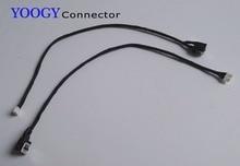 1 шт. Ноутбук Сила dc jack с кабелем, пригодный для Lenovo Ideapad Z580 Z585 series dc порта сокета