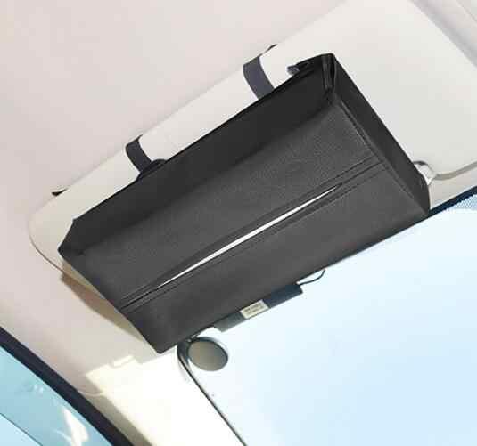 ユニバーサル車のバイザークリップホルダーカーバイザーカードペンcdホルダーオーガナイザーティッシュボックス収納片付けアクセサリー