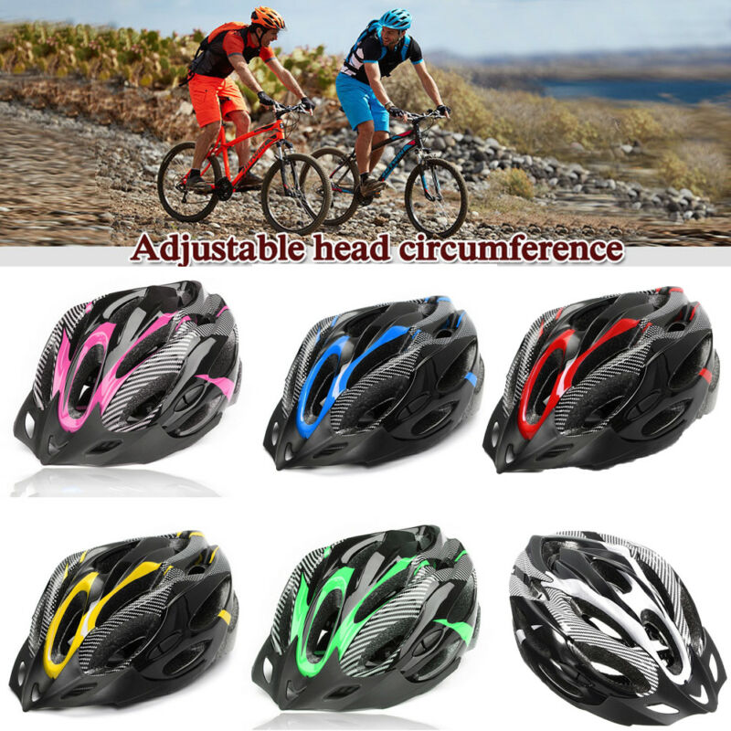 Bike Helmets Mountain-Road-Bike Road-Cycling Adjustable Head-Protector Unisex MTB Sports