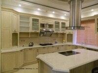 Solid Wood Kitchen Cabinet Door Antique White LH SW062