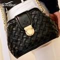 QIAO BAO 2017 Summer new woven chain bag fashion handbag shoulder bag Messenger bags Doctors
