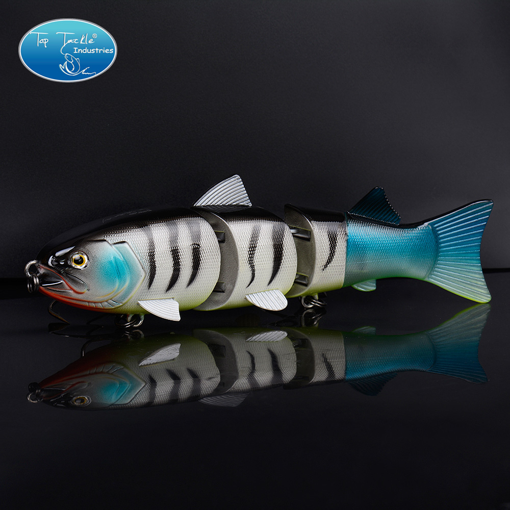 High Quality Nice fishing lure swimbait jointed bait lure 215MM/155G high quality fishing lure fish bait 6 section jointed vib lure 10cm 17g wobbler vibration bait swimbait fishing tackle