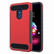 Hybrid Armor Shockproof Case For LG K10 2018 V40 V30 Silicone TPU PC Anti-knock Back Cover Q7 Phone
