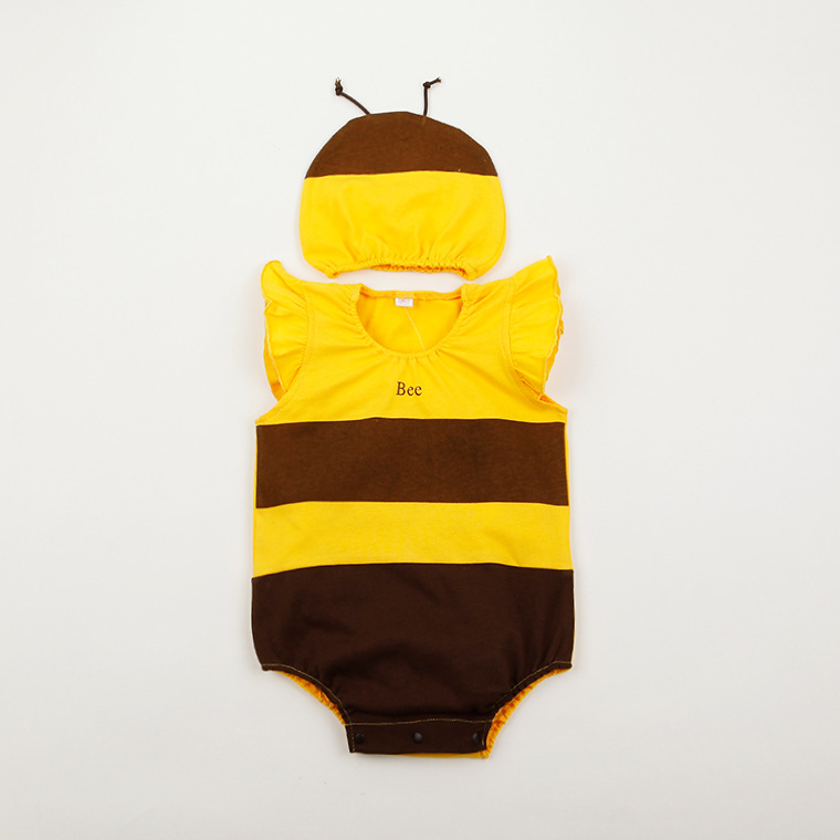 new arrivals baby summer clothing babies summer bee ladybug animal strawberry costume romper and hat