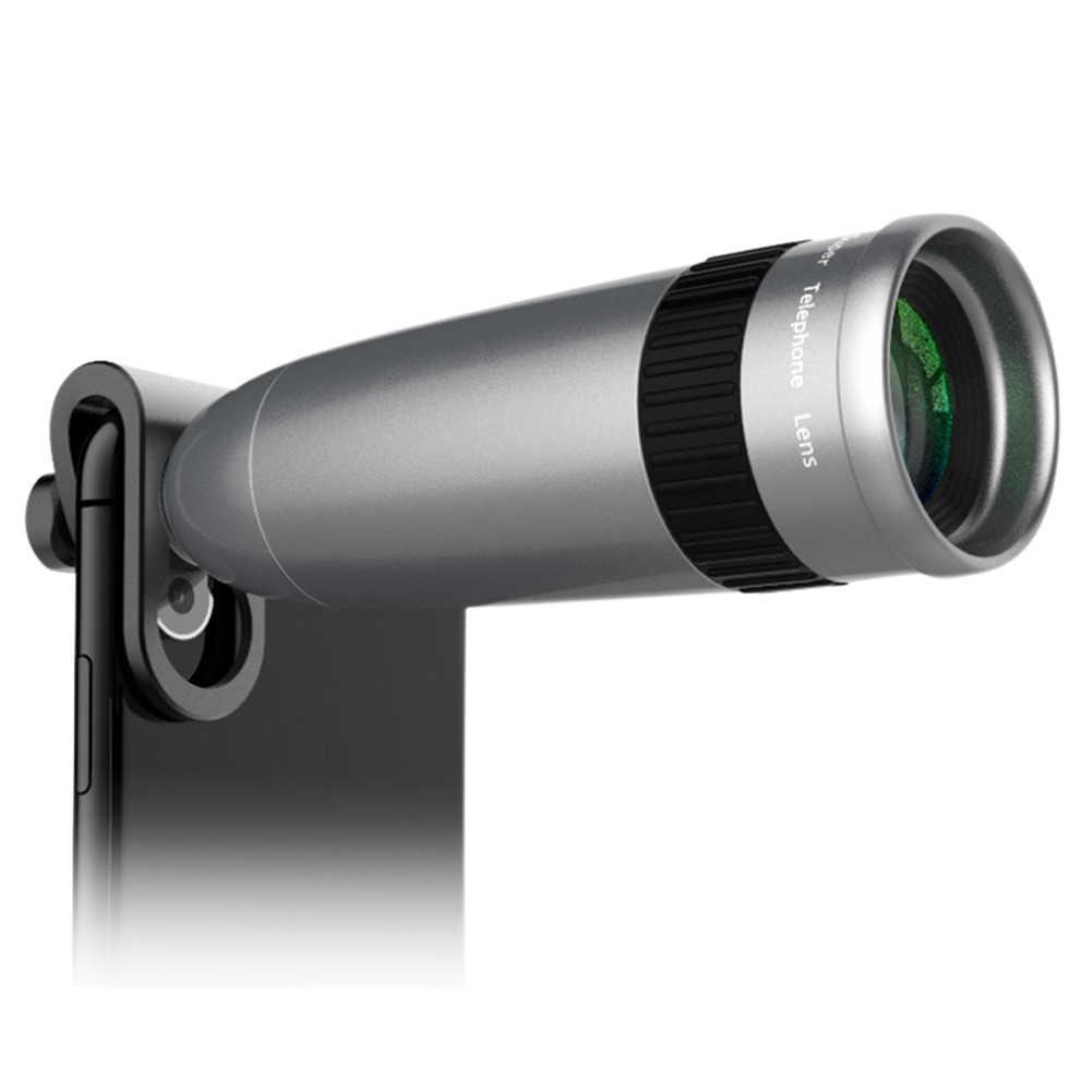 Fazer uma qualidade de imagem melhor e mais clara Lente Do Telefone Celular 20X UY8 Grampo Lente Zoom Ótico com Tripé Universal para Smartphones