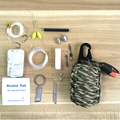 EDC GEAR 550 Paracord Grenade Emergency Kit - Pocket Knife Fishing Tools Outdoor camping survival kit  Military Grade Carabiner