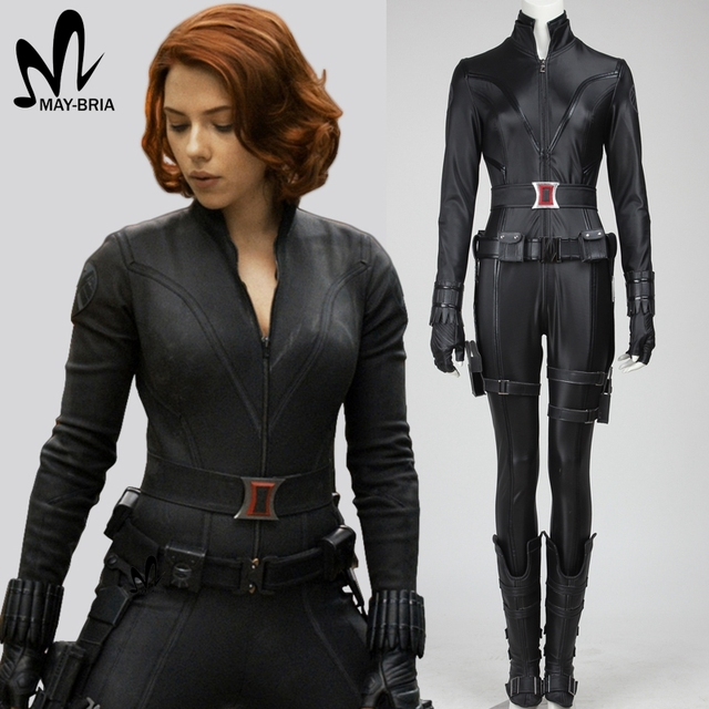 Avengers black widow costume Halloween superhero black widow ...