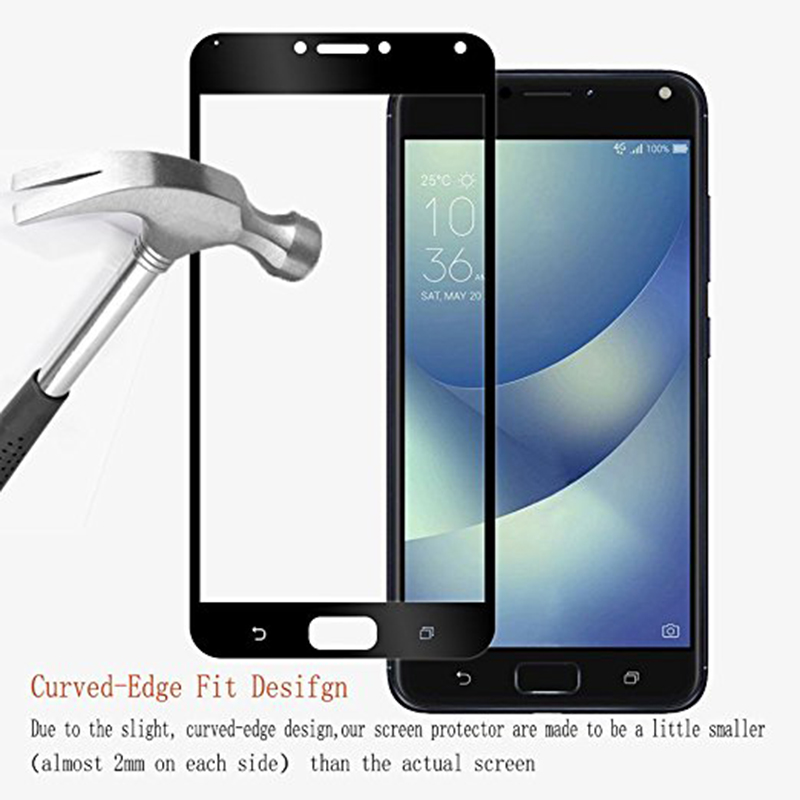 Protective Glass For Asus Zenfone 4 Max ZC554KL Tempered Screen Protector Film For Asus Zenfone 4 3 Max  Zc520TL ZC553KL ZC520KL