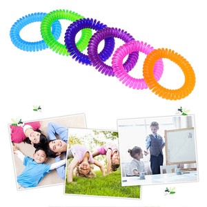 Image 5 - 5PCS Anti Mosquito Insect Repellent Wrist Hair Band Bracelet Camping Outdoor convenient and  practical Household HOT Sale