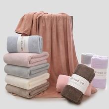 SKTEZO 70*140cm Brand Polyester fiberTowels for Adults  Super Absorbent Body Bathroom Towels Large Luxury Summer Beach Towel