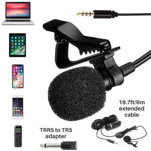 Image 2 - BOYA BY M1 Lapela Microfone estudio microfone de lapela kit condensador camera smartphone microfone mic lapela
