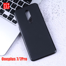Oneplus 7 Pro Case Soft Liquid Silicon Back Cover Oneplus 7 Pro 6 6T Case capa Ultra Thin Matte 360 Degree Full Protective