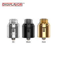 Clearance Digiflavor Drop Solo RDA E cigarette Tank 22mm Diameter with 510 Pin &BF Pin for Squonk MODs Single Coil Vape Atomizer