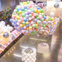 10 inch Macaron Balloons 100pcs/lot  Candy Color Creative Birthday Party Arrangement Arch Balloon Decoration Wedding Supplies