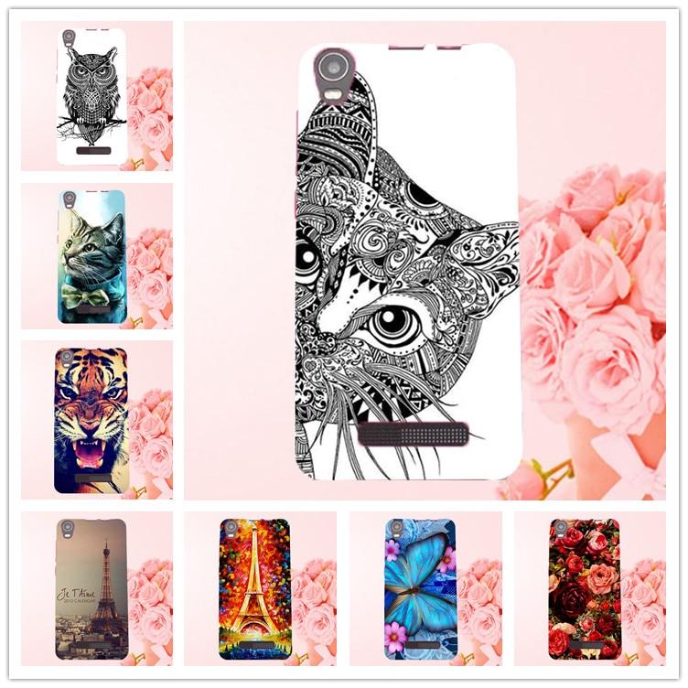 Fashion Paint DIY գունավոր գործի ծածկույթ Prestigio Muze A5 PSP5502DUO Duo Case Case Prestigio Muze A5 PSP5502DUO- ի համար
