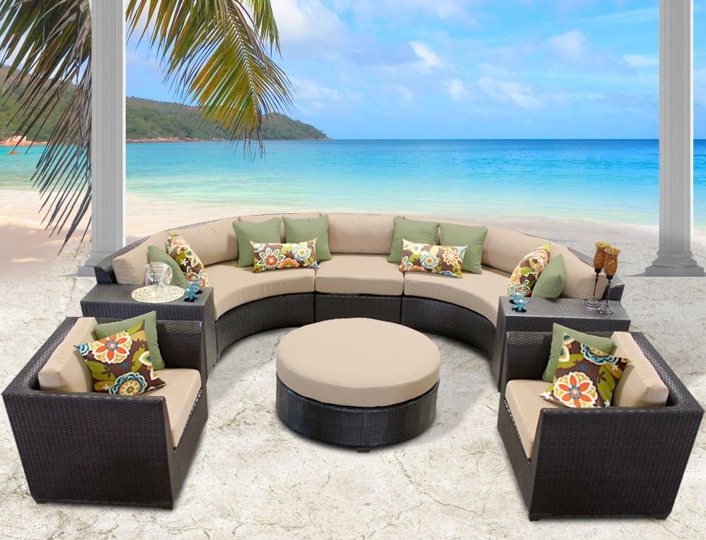 Sigma high quality new classic pe rattan metropolitan smart home furniture