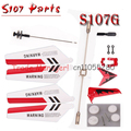Wholesale Full Replacement Parts Set for Syma S107 S107G RC Helicopter Blades quadcopter Balance Bar Shaft Gears S107 parts