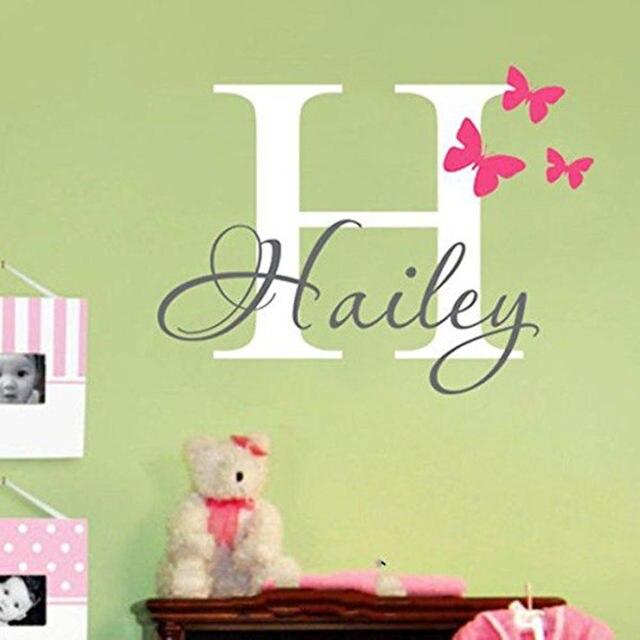 Online Shop YOYOYU Personalized Name Baby Nursery Room Wall Sticker ...