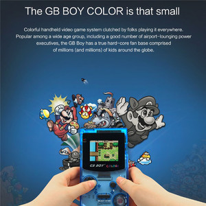 "Image 4 - GB Boy Colorสีมือถือเกม 2.7 ""Portable Classicเกมคอนโซลคอนโซลที่มีBacklit 66 Built Inเกม"