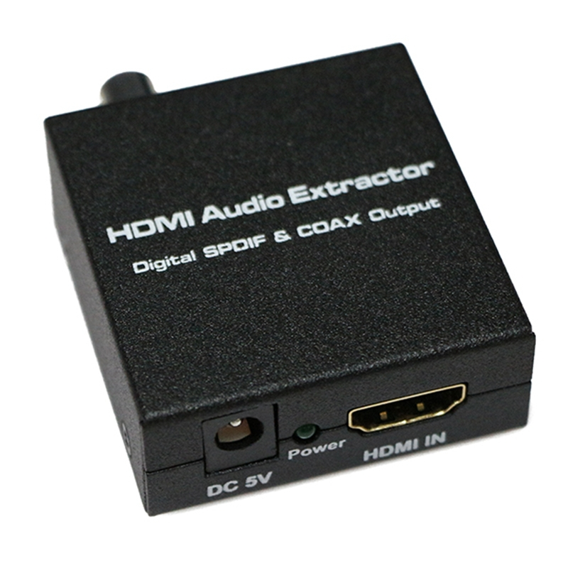 new hdmi to spdif and coaxial converter hdmi input toslink and coaxial out hdmi audio extractor. Black Bedroom Furniture Sets. Home Design Ideas