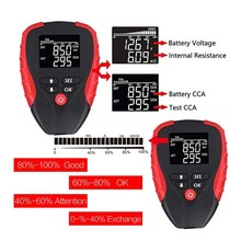 AE310 Digital LCD Backlight Display Battery Tester Tool for Car Batteries Analyzing 12V CCA Mode