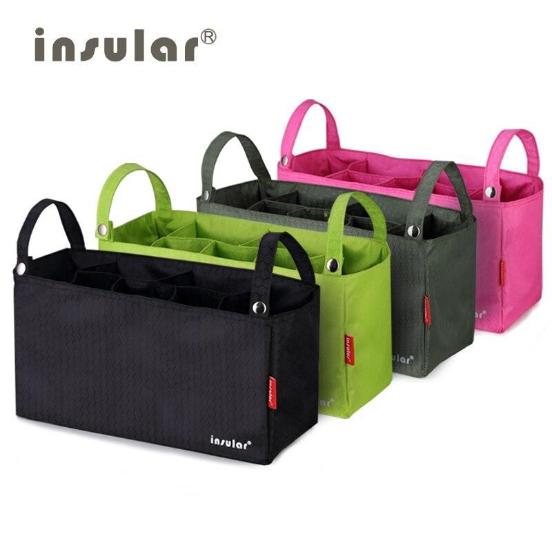 Bag-Liner Multi-Purpose Carriage-Bag Mummy-Bag Baby Waterproof Partition