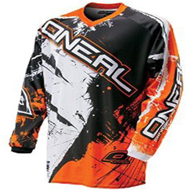 New 2018 Riding Tops Long Sleeve Cycling Jersey Downhill Jerseys Breathable hot Competition Mountain Bike motocross jersey