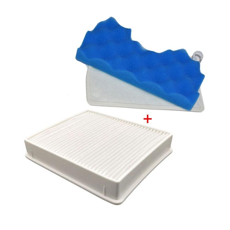 H11 Dust HEPA Filter + 1 Set Blue Sponge Replacement Parts For Samsung DJ63-00672D SC4300 SC4470 SC4570 VC-B710W Vacuum Cleaners