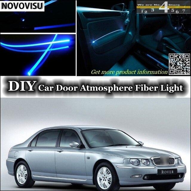 NOVOVISU Voor Rover 75 interieur Omgevingslicht Sfeer Glasvezel Band ...