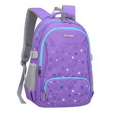 waterproof children school bags girls princess backpack printing schoolbag backpack Primary school backpack kids mochila infant(China)