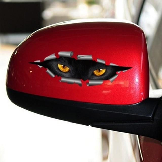 3D Car Styling Cat Eyes Sticker 6
