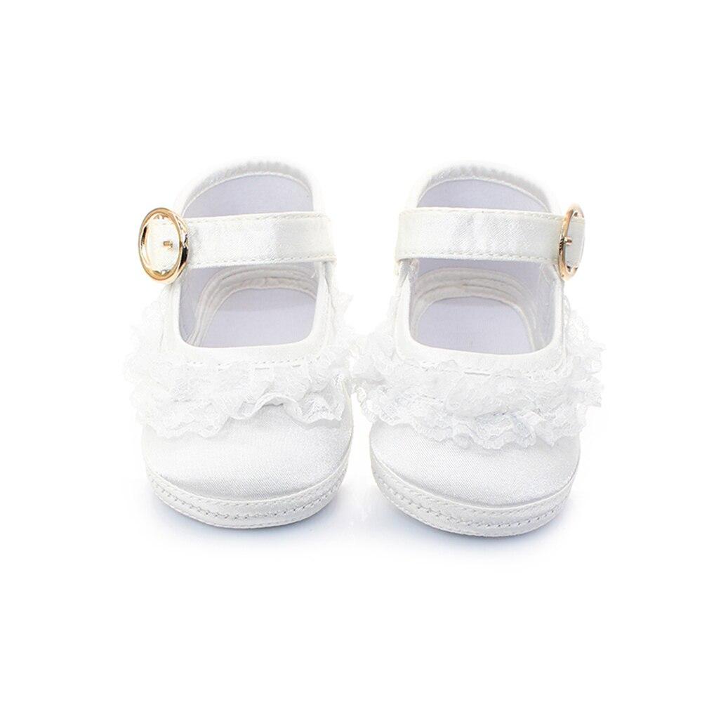 Delebao Pure White Taufe Babyschuhe Säuglingskleinkind Taufe Schuhe - Babyschuhe - Foto 2