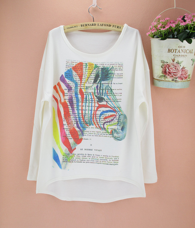Promotion new spring autumn thick fabric t shirt women for Thick material t shirts