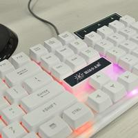 USB Keyboard 104 keys Backlit  Mechanical Gaming Keyboard Super Quiet For Notebook Laptop PC Computer