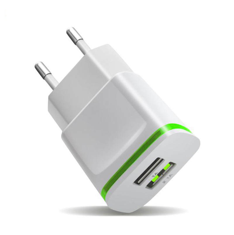 5V 2.1A Travel USB Charger Adapter EU Plug Mobile Phone for Microsoft Lumia 550 640 950 XL 535 +Free usb type C cable