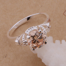 AR085 Hot silver plated Rings for women&men silver 925 jewelry fashion jewelry, gold stone /afcaiwja ahaaiyha