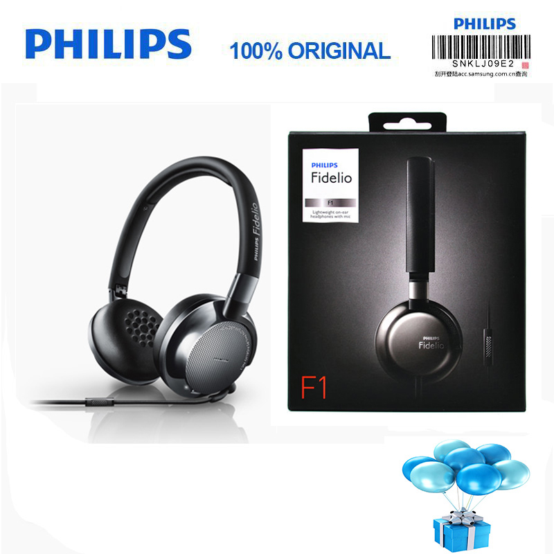 Philips Fidelio F1 headphones voted best product in 2016 with 40 mm high power drive 2meters