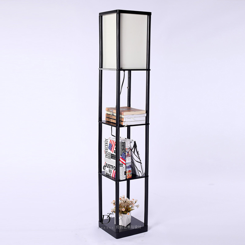Art And Design Creative DIY Storage Shelves Stylish Minimalist Living Room  Lamp Bedroom Bedside Den Floor Lamp On Aliexpress.com | Alibaba Group