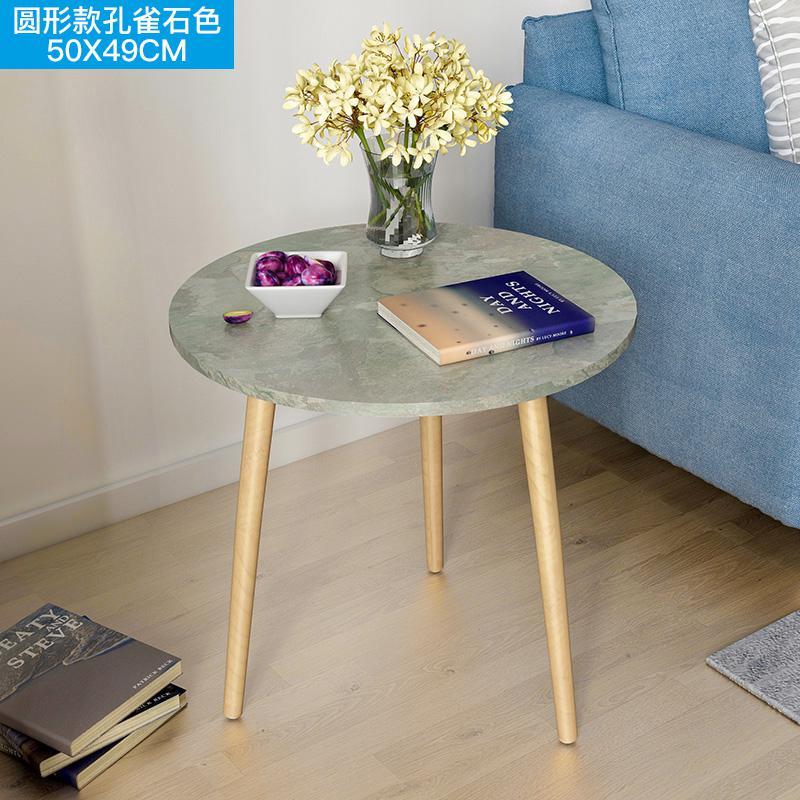 Скандинавский журнальный столик для гостиной, современный минималистичный чайный столик из твердой древесины, многофункциональный чайный столик - Цвет: Style 10