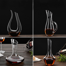 Personalized Household Lead-free Crystal Red Wine Decanter Glass Pot Bar Accessory Tool