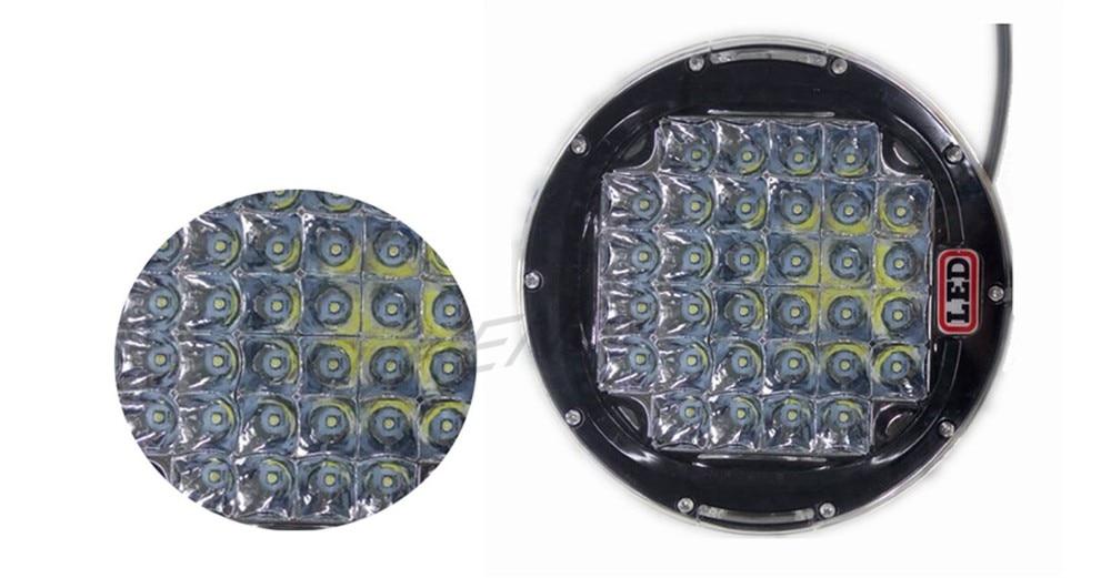 Νέο 320w 9inch μαύρο οδήγησε οδήγησε φως - Φώτα αυτοκινήτων - Φωτογραφία 4