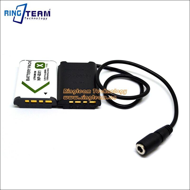 NPBX1 NP-BX1 Fake Battery DK X1 DKX1 DK-X1 DC Coupler for Sony Cybershot DSC-RX1 DSC-RX100 DSC RX1 RX1R RX100 Cameras