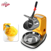 ITOP Ice blender Commercial Electric Ice Crusher Shaver Snow Cone slushy Maker Ice Smoothies Blender Maker Machine цена в Москве и Питере