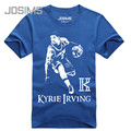 Cavalierse Kyrie Irving Jersey T-Shirts Mens Fashion 3d Printed Cotton T Shirt O-Neck Short Sleeve Teenager Tees A1567