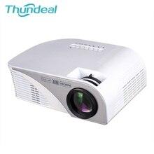 Actualización más reciente RD805 RD805B MINI Proyector Proyector Beamer Para Videojuegos TV del Teatro Casero 3D Película de la Ayuda HDMI VGA AV USB SD
