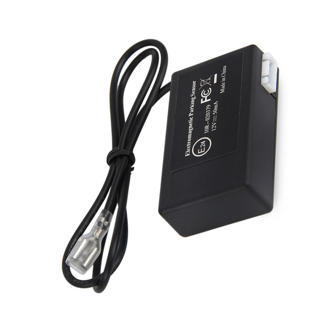 Electromagnetic Auto Car Parking Sensor No Drill No Hole Install Car Detector Reversing Reverse Backup Radar With Buzzer Alarm