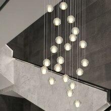 Современный G4 Светодиодный светильник Pandant, несколько лестничные светильники, модные светильники для гостиной, спальни, ресторана, столовой, кухни, освещение