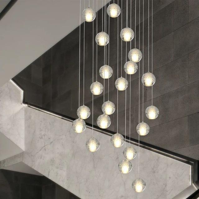 Moderna G4 LED Pandant Lights lampade Multiple per scale infissi moda soggiorno camera da letto Decora ristorante sala da pranzo illuminazione della cucina