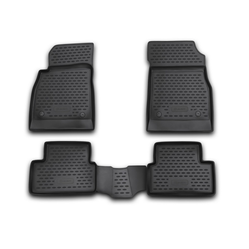 Mats in the salon For CHEVROLET Cruze 08/2009-2015, 4 PCs (polyurethane) mats in salon сртк chevrolet еpikа 09 rubber ch ep 06 10 g 02043